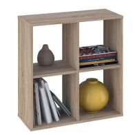 See more information about the Kudl Bookcase 4 Shelf Oak Style