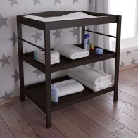 See more information about the Kudl Changing Table Black 2 Shelf