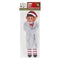 See more information about the Elves Behavin' Badly Elf Size Dressing Gown Grey