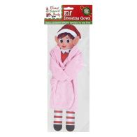 See more information about the Elves Behavin' Badly Elf Size Dressing Gown Pink