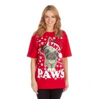 See more information about the Santa Paws Christmas T-Shirt - Small