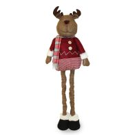 See more information about the Extendable Standing Reindeer Figure - 36 Inch