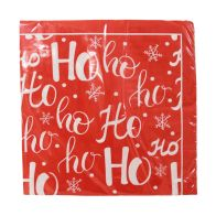 See more information about the Christmas Lunch Napkin 25 Pack - Ho Ho Ho