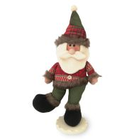See more information about the Standing Santa Figure 19 Inch - Green Hat