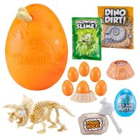 See more information about the (DIS) Zuru Smashers Epic Dino Egg Fossil Rock Triceratops