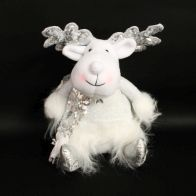 See more information about the Sitting Reindeer Reindeer - White