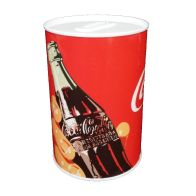 See more information about the Coke Money Tin 10 x 15cm Bottle