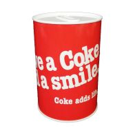 See more information about the Coke Money Tin 10 x 15cm Smile