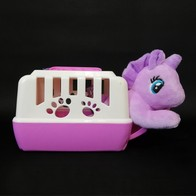 See more information about the Purple Unicorn Plush Toy With Carry Case 13cm