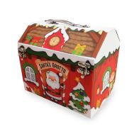 See more information about the Small Santa's Grotto Christmas Eve Box Metal Clasp