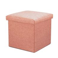 See more information about the Pink Square Ottoman 38cm