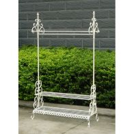 See more information about the Bentley Home Clothes Rail & Shoe Rack