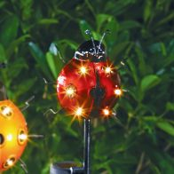 See more information about the Bright Garden Solar Ladybird Stake Light - Red