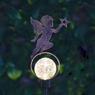 See more information about the Bright Garden Solar Stake Light - Cherub With Star