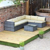 See more information about the Swift Deck Premium Garden Decking Kit 2.4 x 7m