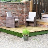 See more information about the Swift Deck Premium Garden Decking Kit 4.75 x 4.7m