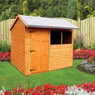 See more information about the Albany Sheds Pytchley 8' x 6' Apex Shiplap Wood Garden Shed