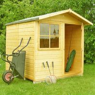 See more information about the Shire Abri Shiplap Garden Shed 7' x 7'