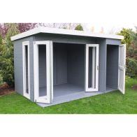 See more information about the Shire Aster Shiplap Garden Summerhouse 12' x 8'