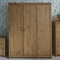 See more information about the Aztec Wardrobe Pine 3 Door