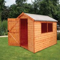 See more information about the Albany 6' x 4' Norfolk Compact Shed Treated Premium 12mm T&G Cladding