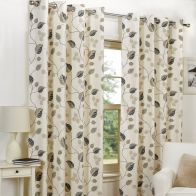"See more information about the Fusion April Curtains (45"" Width x 54"" Drop) - Taupe"