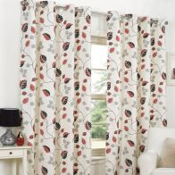 "See more information about the Fusion April Curtains (45"" Width x 54"" Drop) - Red"