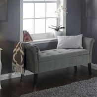 See more information about the Balmoral Chenille Fabric Grey Window Seat