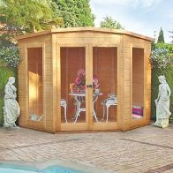 See more information about the Shire Barclay Garden Summerhouse (7' x 7')