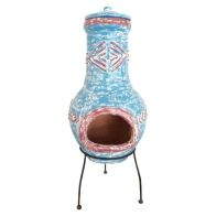 See more information about the Aztec Large Clay Garden Outdoor Chimenea Heater