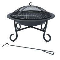 See more information about the 56cm Round Garden Outdoor Patio Fire Pit Heater