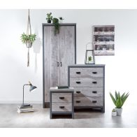 See more information about the Boston 3 Piece Bedroom Set Grey