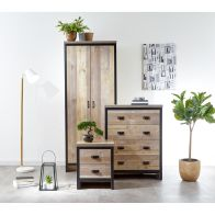 See more information about the Boston 3 Piece Bedroom Set Oak Styled