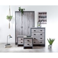 See more information about the Boston 4 Piece Bedroom Set Grey
