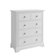 See more information about the Banbury 5 Drawer Chest White