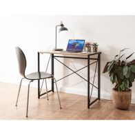See more information about the Bramwell Desk Brown & Black