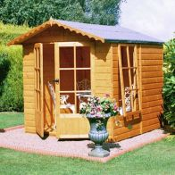 See more information about the Shire Buckingham Garden Summerhouse (7' x 7')