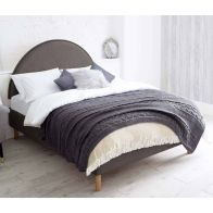 See more information about the Bakewell Divan Pine Grey 5ft King Size Bed Frame