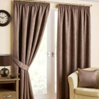 "See more information about the Fusion Belvedere Black Out Curtains (45"" Width x 54"" Drop) - Mink"