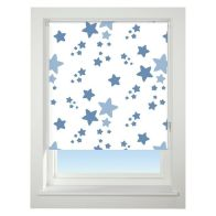 See more information about the Universal 60cm Blue Twinkle Twinkle Blackout Roller Blind