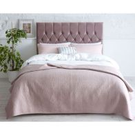 See more information about the Lansfield Velvet Pink 3ft Single Bed Frame