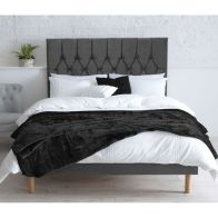See more information about the Lansfield Velvet Grey 3ft Single Bed Frame