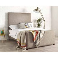 See more information about the Brooklyn Velvet Cream 4ft 6in Double Bed Frame