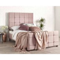 See more information about the Brooklyn Velvet Pink 4ft 6in Double Bed Frame