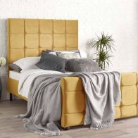 See more information about the Brooklyn Velvet Gold 4ft 6in Double Bed Frame