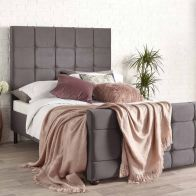 See more information about the Brooklyn Velvet Grey 4ft 6in Double Bed Frame