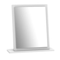 See more information about the Budget Mirror White Small