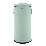 See more information about the 30L Retro Steel Waste Rubbish Kitchen Pedal Bin - Green