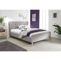 See more information about the Carnaby Upholstered Double Bed Frame Grey