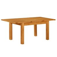 See more information about the Holkham Oak Extending Rectangular Dining Table Small 0.9-1.3m Cotswold